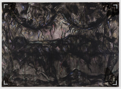 Jutta Koether, 'Black Garland BERLIN ( # 1: WTF)', 2011