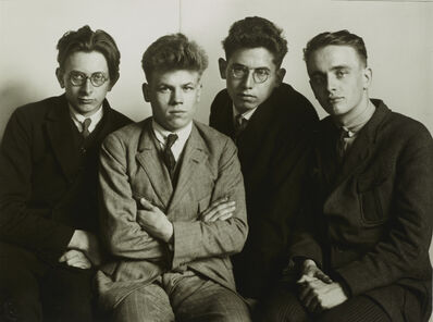 August Sander, 'IV/18/4 Working Students', 1926