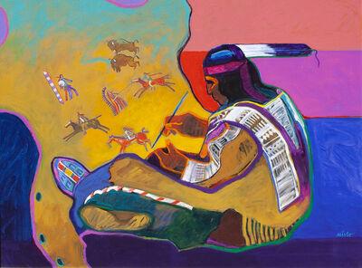 John Nieto, 'Buffalo Hide Painting', ca. 2018