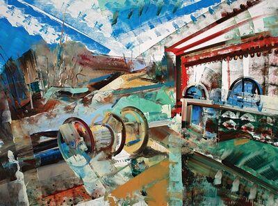 David Brewster, 'Hydropower Spools', 2016