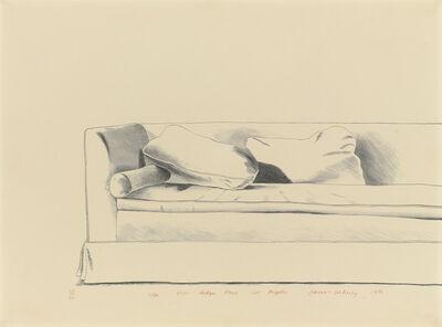 David Hockney, 'Sofa, 8501 Hedges Place, Los Angeles', 1971