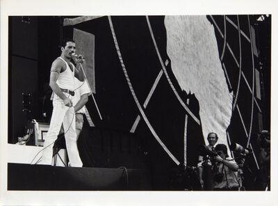 Frank Griffin, 'Freddie Mercury al concerto 'LIVE AID' Londra', 1985