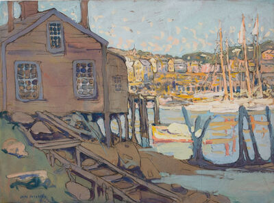 Jane Peterson, 'Fisherman's Home, Gloucester Harbor'