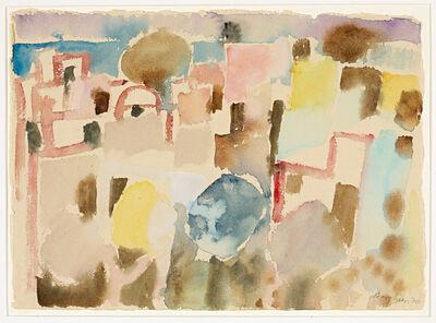 Eduard Bargheer, 'Häuser in Tunis ', 1970