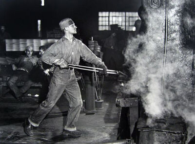 Jack Delano, 'In an Iron Foundry, Washington, Pennsylvania', 1941