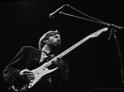 Harry Benson, 'Eric Clapton, Hartford, Connecticut', 1992