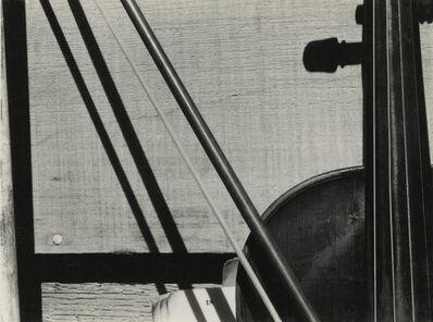 Sonya Noskowiak, 'Violin and Bow', 1930