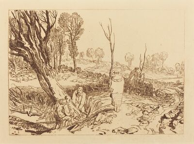 J. M. W. Turner, 'Hedging and Ditching', published 1812