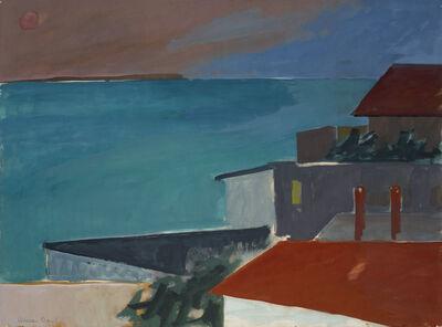 Herman Maril, 'Evening Rooftops, Provincetown', 1969
