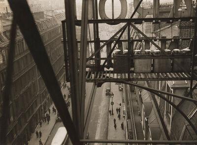 Germaine Krull, 'Rue Auber à Paris', ca. 1928
