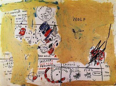 Jean-Michel Basquiat, 'Wolf Sausage', 1982