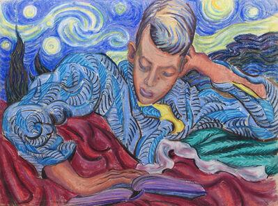 Joseph Plaskett, 'Untitled (figure reading)', 1943
