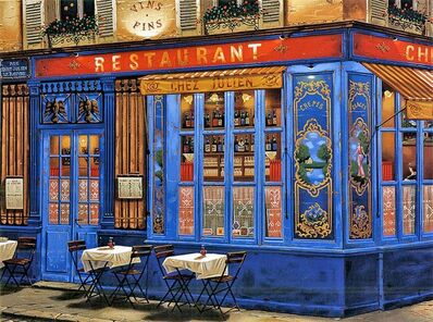 Liudmila Kondakova, 'Chez Julien (Sidewalks of Paris)', 1998