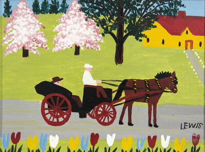 Maud Lewis, 'Spring Carriage Ride', mid-20th Century