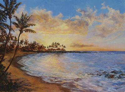 Betty Hay Freeland, 'Sunset at Pauoa Bay', 2018
