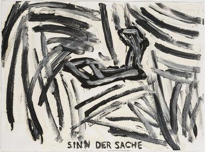 Troels Wörsel, 'Sinn der Sache', 1981