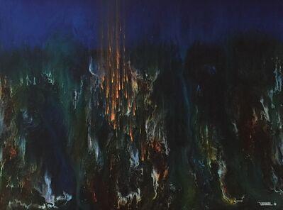 Leonardo Nierman, 'Magic Fire ', 1966