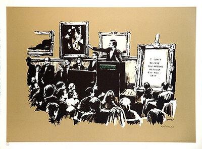 Banksy, 'Sepia Morons ', 2007