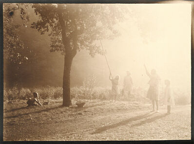 Léonard Misonne, 'Picking Fruit in the Sunlight', 1920s