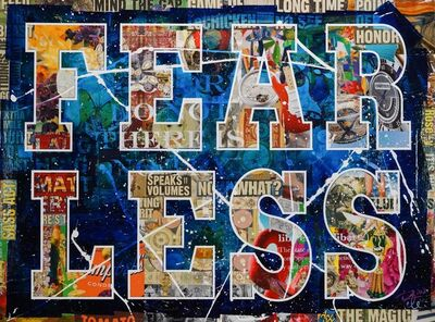 Peter Tunney, 'Fear Less', 2021