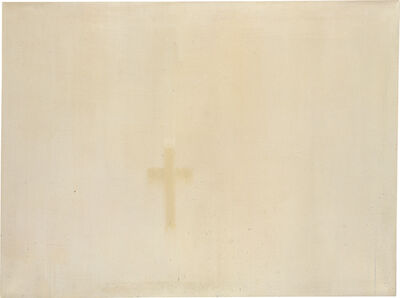 Rafał Bujnowski, 'Untitled (Cross from Traces of Paintings)', 2005