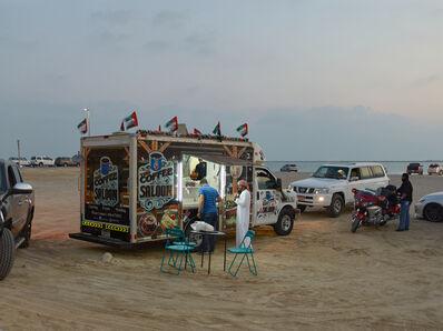 Philip Cheung, 'Coffee truck, Al Bateen, Abu Dhabi', 2015