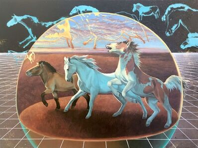 Alexis Kandra, 'The First Horse', 2019