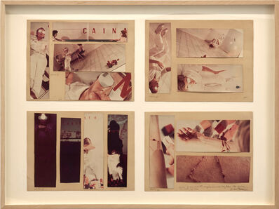 Gina Pane, 'Io mescolo tutto: Cocaina, Frà Angelico', 1976
