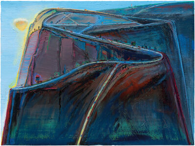 Wayne Thiebaud, 'Mountain Roads', 2010-19