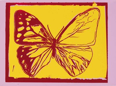 Andy Warhol, 'Butterfly, from Vanishing Animals', 1986