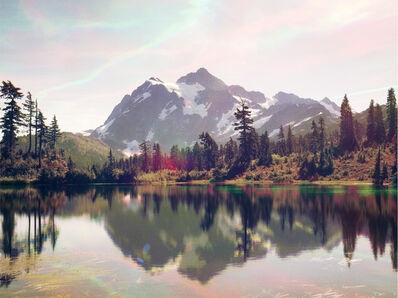 Peter Funch, 'Mt. Shuksan from Mt. Baker Lodge Lakes', 2014