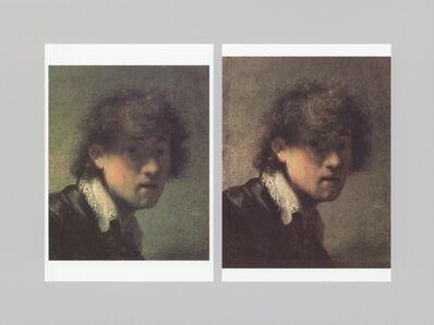 Timm Rautert, 'Portrait, from the series ARTWORK', 2001