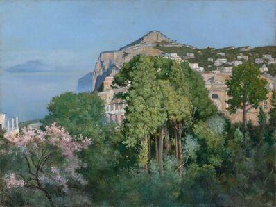 Charles Caryl Coleman, 'A View of Monte Solaro, Capri (A Capri Villa)'