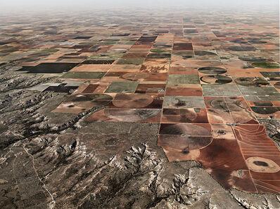 Edward Burtynsky, 'Pivot Irrigation #11, High Plains, Texas Panhandle, USA', 2011