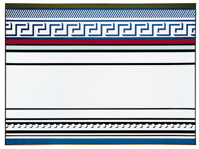 Roy Lichtenstein, 'Entablature'
