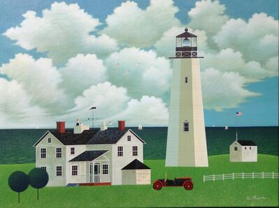 Kei Masuda, 'New England scene', 2000