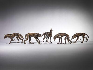 Sophie Dickens, 'Wolf pack, set of 5', 2019