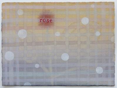 Julia Kuhl, 'Domestic Textiles Series, Rose', 2019