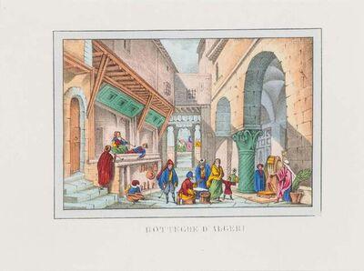 Unknown, 'Bazaar In Algeria', 1846