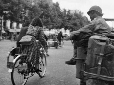 Jacques Henri Lartigue, 'Après le Libération de Paris, Champs Elysées', 1944