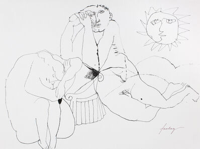 Lajos Szalay, 'Couple', ca. 1970