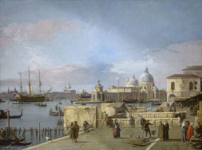 Canaletto, 'Entrance to the Grand Canal from the Molo, Venice', 1742/1744