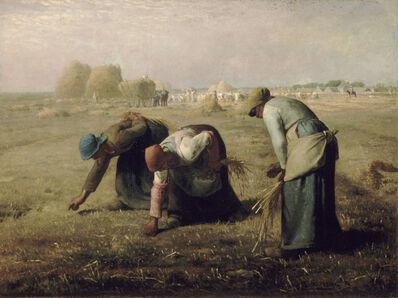 Jean-François Millet, 'The Gleaners', 1857