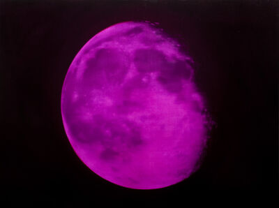 Tony Lloyd, 'Pink Moon', 2019