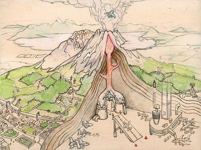 Hiro Sakaguchi, 'Volcanic Daydreams', 2014
