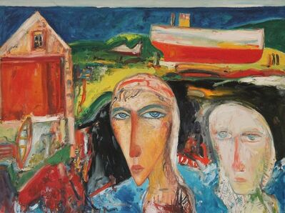 John Bellany R.A., 'The Boathouse', 1998