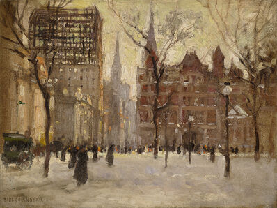 Paul Cornoyer, 'Madison Square Park'
