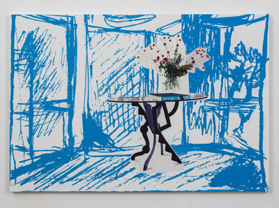 Dexter Dalwood, 'Half Moon Street', 2014