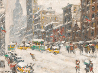 Guy Carleton Wiggins, 'Winter in New York', 1950-1960