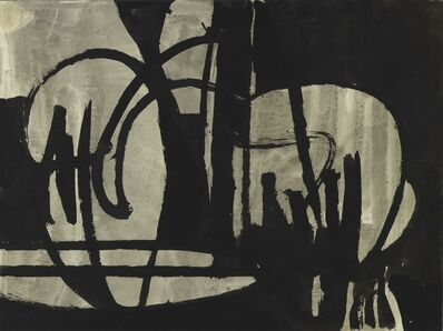Charlotte Park, 'Untitled (Black and Gray IV)', ca. 1950